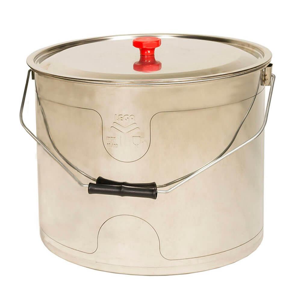 Seau à miel inox (25 kg)