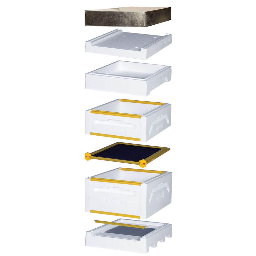 Toit Polystyrène Bee Box