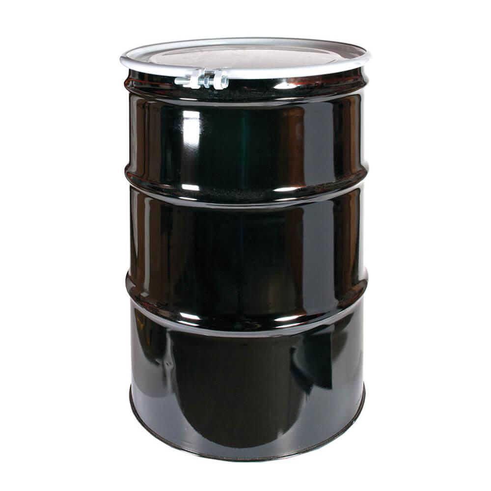 Baril en acier neuf (45 gallons impérial)(205 litres)